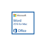 Microsoft Word for Mac 2016, 1u