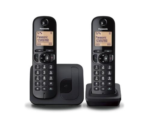 Panasonic KX-TGC212E DECT telephone Black Caller ID
