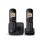Panasonic KX-TGC212E DECT Caller ID Black