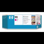 HP 90 Magenta DesignJet Druckkopf und Druckkopfreiniger