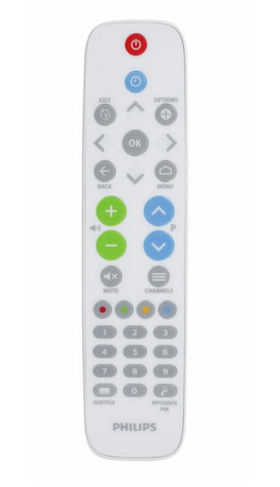 Philips 22AV1604B remote control TV Press buttons