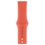 Apple MWUW2ZM/A smartwatch accessory Band Orange Fluoroelastomer