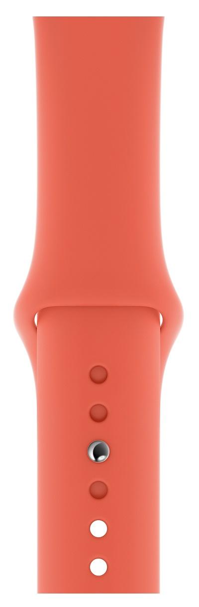 Apple MWUW2ZM/A smartwatch accessory Band Orange Fluoroelastomer