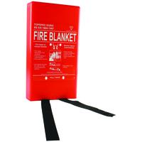 FIREMAST FIRE BLANKET FIBREGLASS 180X120CM FB64P