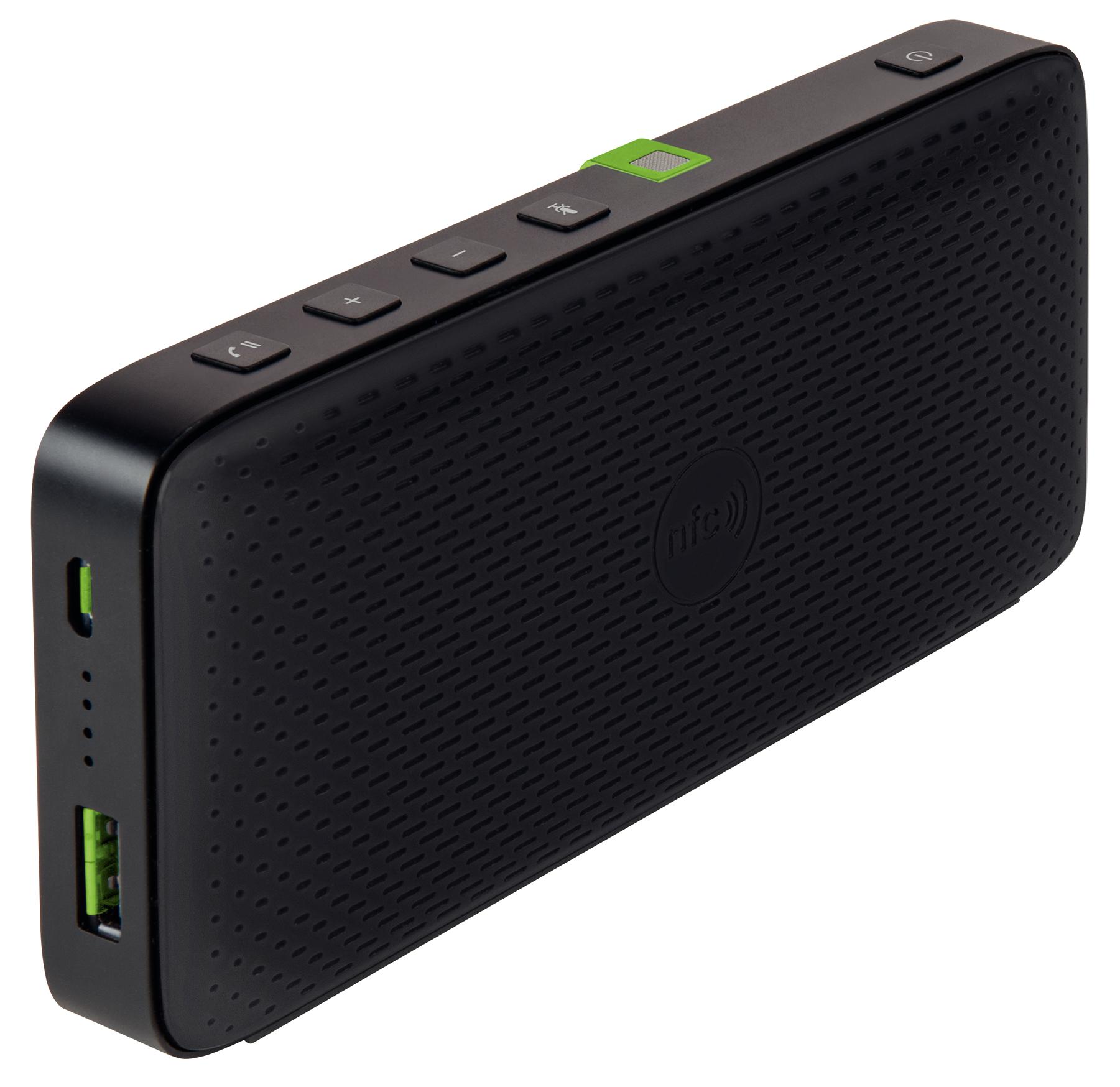 Leitz 65190095 Mono portable speaker 10W Black