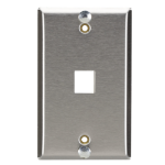 Black Box WP369 wall plate/switch cover Stainless steel