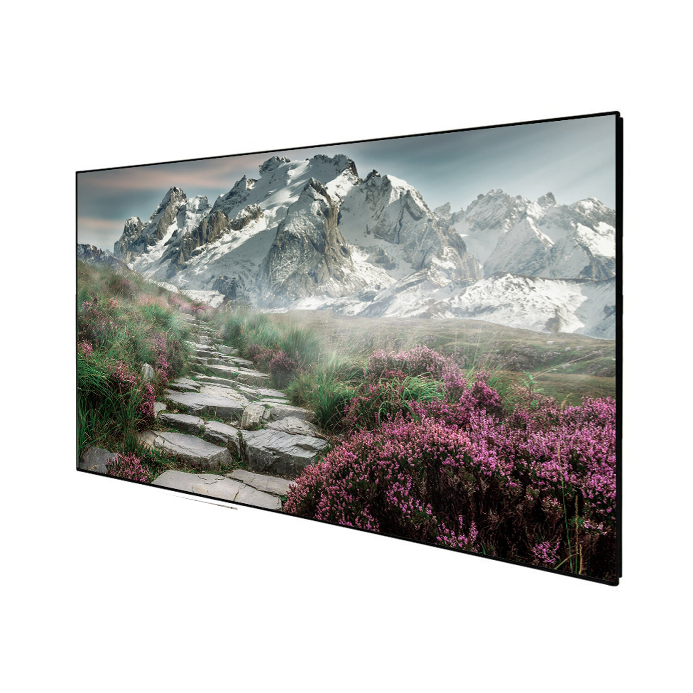 "Celexon DELUXX Cinema - SlimFrame 221cm x 124cm 100"" Diag - SOUNDVISION Acoustic Transparent Fixed Frame screen"