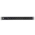 Aten PE0112G power distribution unit (PDU) 1U Black 12 AC outlet(s)
