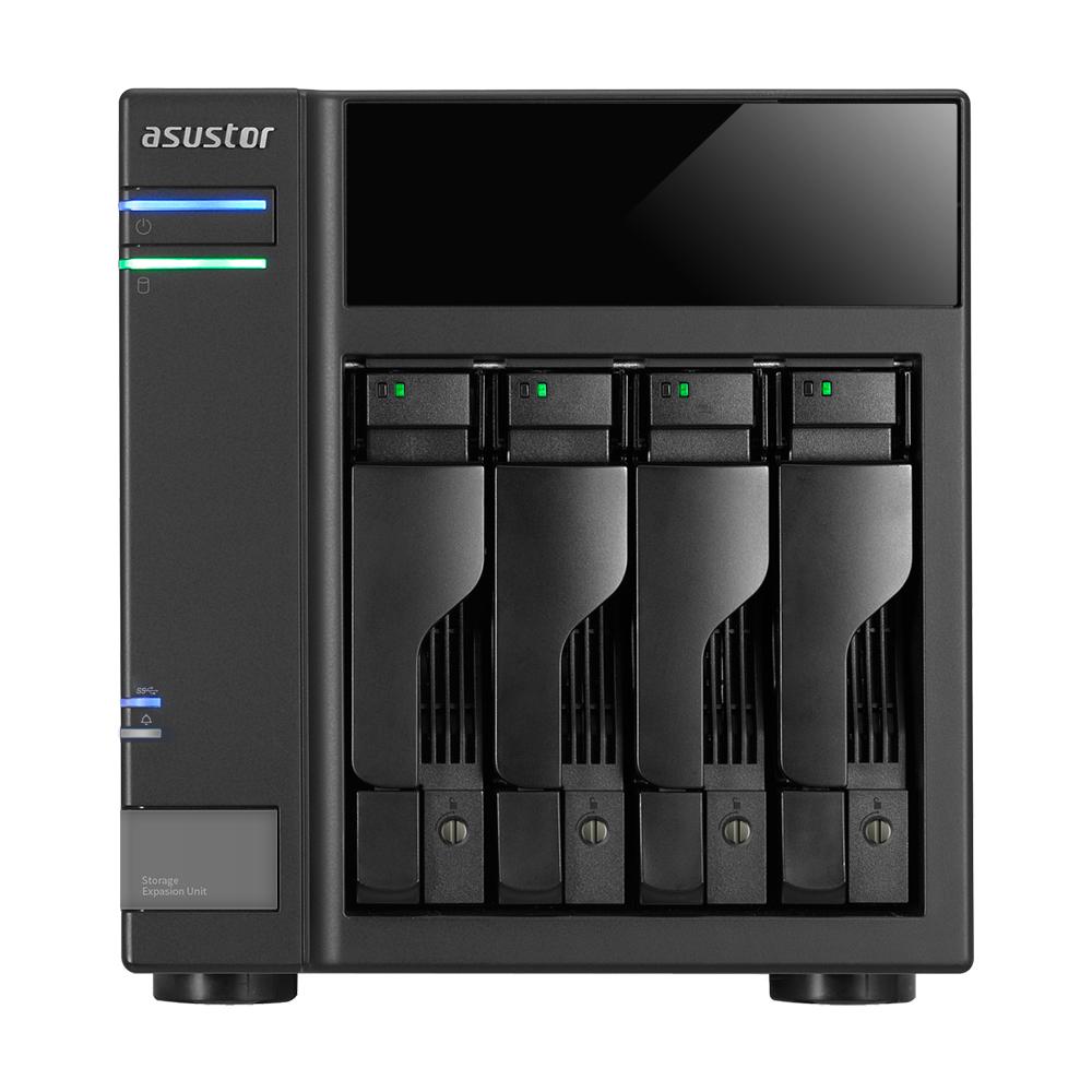 """Asustor AS6004U 2.5/3.5"""" HDD/SSD enclosure Black"""
