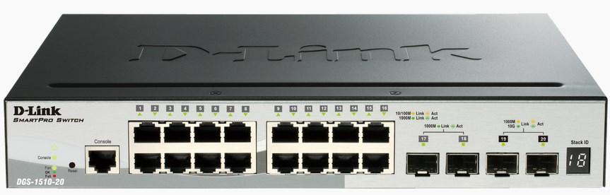 D-Link DGS-1510-20 network switch