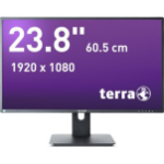 "Wortmann AG TERRA LED 2456W PV 60.5 cm (23.8"") 1920 x 1080 pixels Full HD Black"