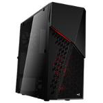 Aerocool CyberX Advance Midi Tower Case - Black Window