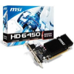 MSI R6450-2GD3H/LP Radeon HD6450 2GB GDDR3 Video Card