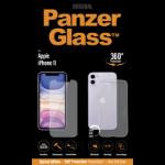 "PanzerGlass B2662 mobile phone case 15.5 cm (6.1"") Cover Transparent"