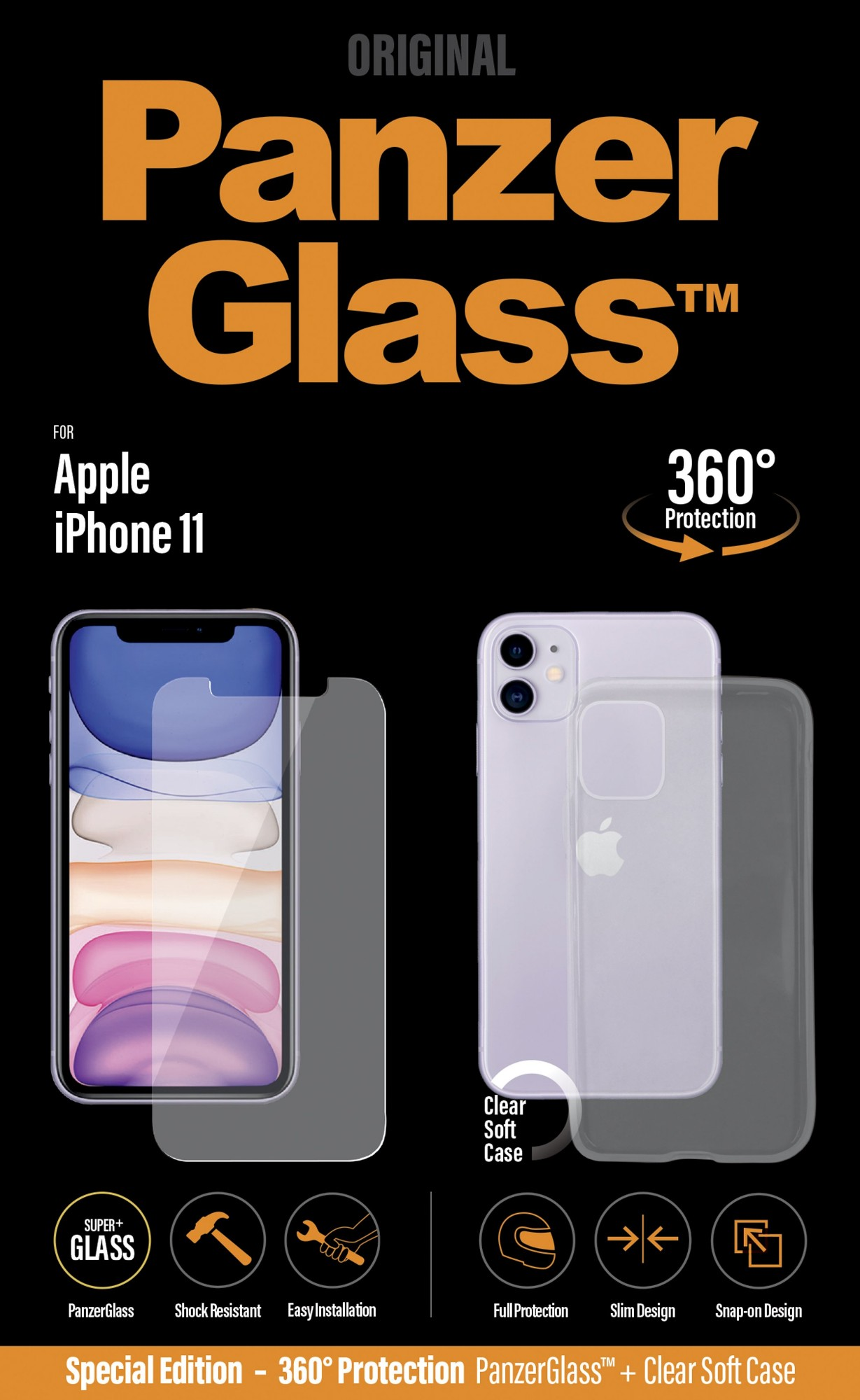 360 PROTECTION IPHONE 11 W. PG CASE
