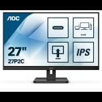 AOC 27P2C LED display 68,6 cm (27 Zoll) 1920 x 1080 Pixel Full HD Schwarz