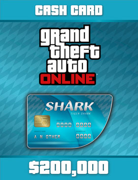 Nexway Grand Theft Auto Online: Tiger Shark Card