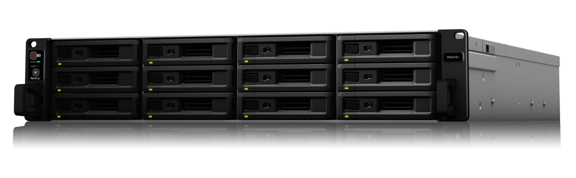 Synology RS2418+/96TB-REDPRO 12 Bay NAS
