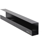 StarTech.com UDCMTRAY cable organizer Desk Cable tray Black 1 pc(s)