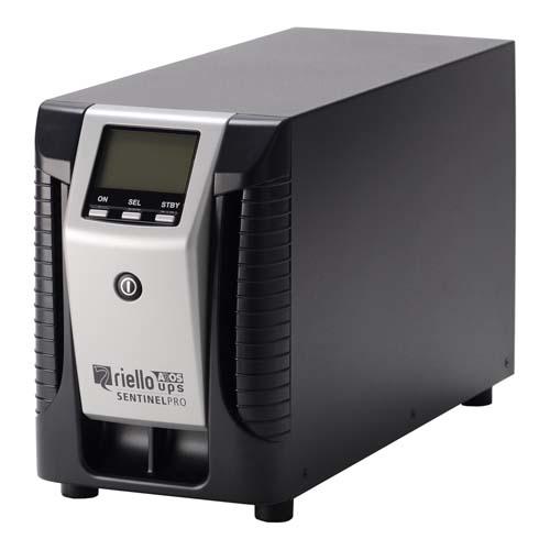 Riello Sentinel Pro 1000 sistema de alimentación ininterrumpida (UPS) 1000 VA 800 W 4 salidas AC