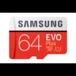 Samsung Evo Plus memory card 64 GB MicroSDXC UHS-I Class 10