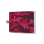 Seagate STJE500405 external hard drive 500 GB Camouflage,Red