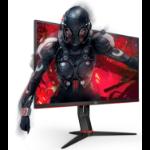 """AOC 24G2E5 LED display 60.5 cm (23.8"""") 1920 x 1080 pixels Full HD Black, Red"""