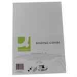 Q-CONNECT Q CONNECT COMB BNDR CVR LTHR P100 WHT A4