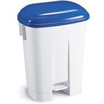 FSMISC 60 LTR PLASTIC BIN WHITE/BLUE 348018013