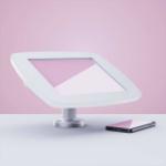 """Bouncepad Swivel Desk tablet security enclosure 24.6 cm (9.7"""") White"""
