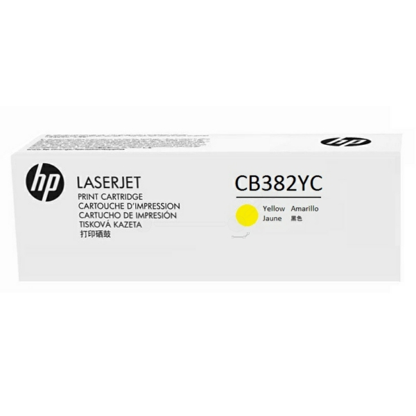 HP CB382YC (824A) Toner yellow, 31K pages