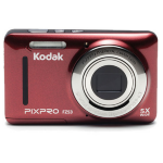 "Kodak PIXPRO FZ53 Compact camera 16MP 1/2.3"" CMOS 4608 x 3456pixels Red"