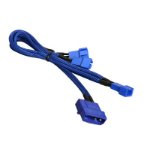 BitFenix Molex - 3 x 3-Pin Fan 12v 20cm Molex (4-pin) Blue