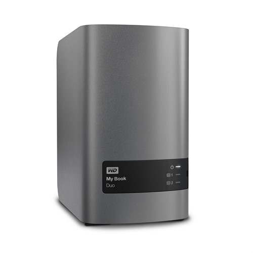 Western Digital My Book Duo external hard drive 4000 GB Silver