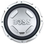 BOSS CX122 Passive subwoofer 700W Black, White subwoofer
