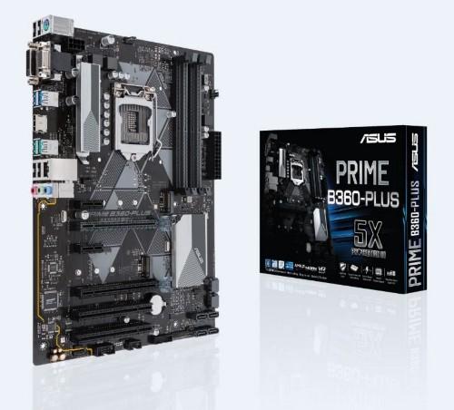 ASUS PRIME B360-PLUS motherboard LGA 1151 (Socket H4) ATX Intel® B360