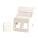 Lanview LVN127871 wall plate/switch cover White
