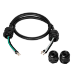 CyberPower 0.9 m 2 x 3-wire (ROJ) Internal 0.9m Black power cable
