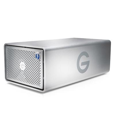 G-Technology G-RAID Caja de disco duro (HDD) Plata