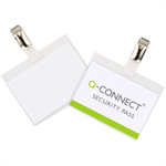Q-CONNECT KF01562 25pc(s) identity badge/badge holder