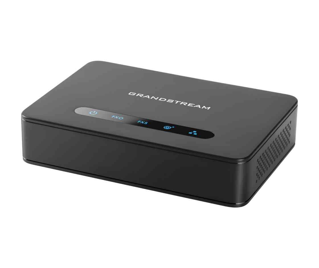 Grandstream Networks HT813 telephone splitter Black