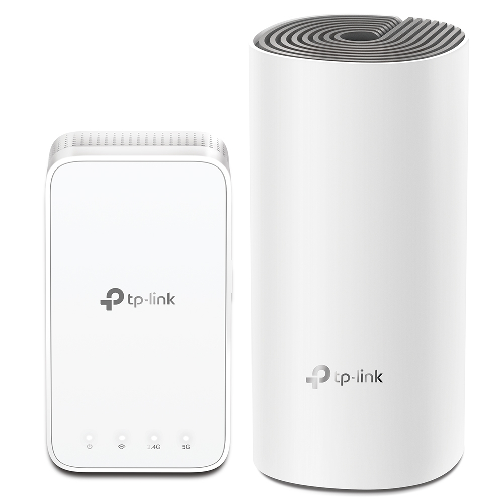 TP-LINK Deco E3 wireless router Dual-band (2.4 GHz / 5 GHz) Fast Ethernet Grey,White