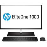 "HP EliteOne 1000 G2 68.6 cm (27"") 3840 x 2160 pixels 8th gen Intel® Core™ i7 16 GB DDR4-SDRAM 256 GB SSD Wi-Fi 5 (802.11ac) Black All-in-One PC Windows 10 Pro"