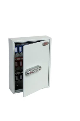 Phoenix Safe Co. KC0601E key cabinet/organizer Grey
