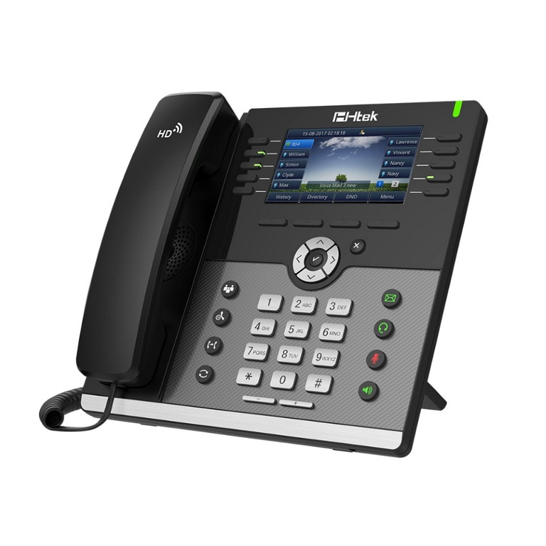 "Htek UC926 Executive Business IP Phone, 4.3"" Colour Display, Gigabit Ethernet, 2 Year Warranty"