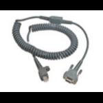 Intermec 6.5ft RS232 9-Pin serial cable Grey 2 m D-sub 9-pin