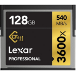 Lexar CFast 2.0, 128GB 128GB CompactFlash memory cardZZZZZ], LC128CRBEU3600