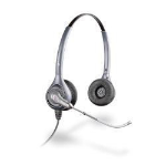 Plantronics HW361 SupraPlus Binaural Head-band Silver headset