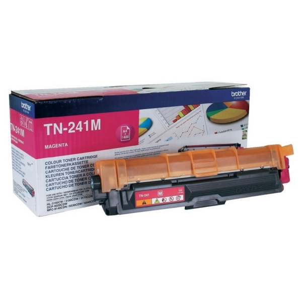 Brother TN-241M Toner magenta, 1.4K pages