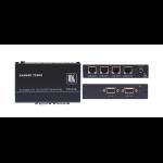 Kramer Electronics TP-114 AV transmitter Black audio/video extender